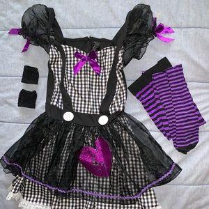 """Women's """"Broken Doll"""" costume."""